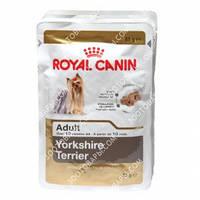 Royal Canin Yorkshire Terrier (паштет) Консервированный корм для взрослых собак 85г