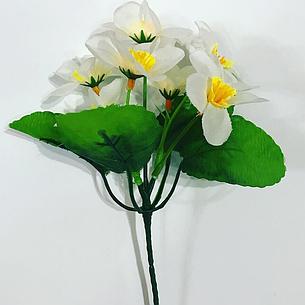Искусственный букет нарциссов.Нарцисс заливка., фото 2