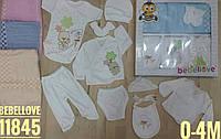 Детский подарочный 10-предметный набор для новорождённых  девочек