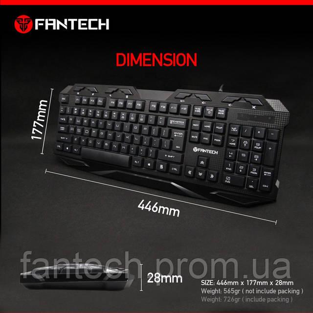 Игровая клавиатура FANTECH K10 HUNTER, фото 9