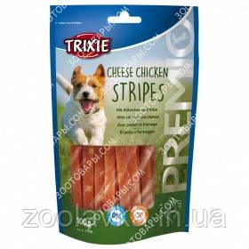 Лакомства для собак Trixie 31586 Premio Cheese & Chickies Stripes с сыром и мясом птицы