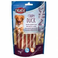 Лакомства для собак Trixie 31705 Premio Crispy Duck с мясом утки и из сыромятной кожи