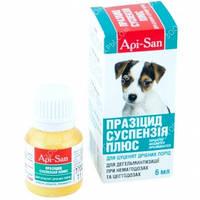 Празицид Суспензия Плюс (Api-San) Антигельминтик для щенков малых пород
