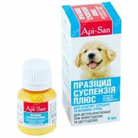 Празицид Суспензия Плюс (Api-San) Антигельминтик для щенков средних и крупных пород