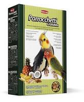 Padovan Grandmix Parrocchetti 0,85 кг - Комплексный корм для средних попугаев (неразлучники, кореллы)