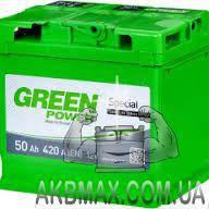 Аккумулятор автомобильный стартерный TM Green Power 50Ah 420A