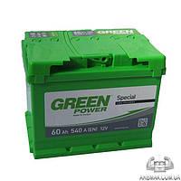 Аккумулятор автомобильный стартерный TM Green Power 60Ah 540A