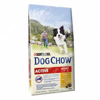 Purina Dog Chow Active Сухой корм для активных собак с курицей 2,5кг