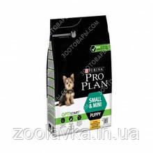 Pro Plan PUPPY SMALL and MINI Optistart Корм для щенков мелких и карликовых пород 3кг