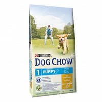 Purina Dog Chow Puppy Chicken Сухой корм для щенков с курицей 2,5кг