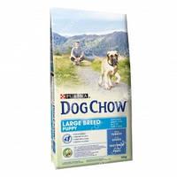Purina Dog Chow Puppy Large Breed Сухой корм для щенков крупных пород с индейкой 14кг