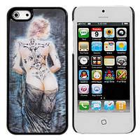 Стереоскопический 3D-эффект для купания обнаженной леди Pattern чехол для iPhone 5 5G в