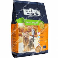 Клуб 4 Лапы Сухой корм для взрослых собак мелких пород 12кг