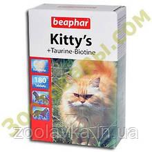 Beaphar Kittys Taurin and Biotin Вітаміни для кішок 750т