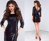 Праздничное платье паетки №1100 kux