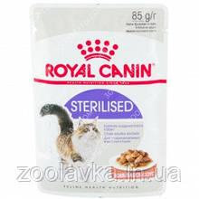 Royal Canin Sterilised (кусочки в соусе) Консервы для стерилизованных кошек