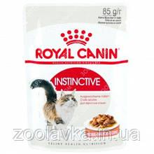 Royal Canin Instinctive (кусочки в соусе) Консервы для кошек старше 1 года