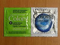 Презервативы Crown Assorted Colors Okamoto ультратонкие разноцветные