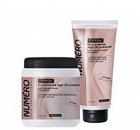 Маска для блеска волос на основе ценных масел Brelil Numero Supreme Brilliance Mask 300мл