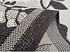 """Безворсовый ковер-рогожка """"Птицы в ветвях"""" - цвет - бежевый, фото 3"""