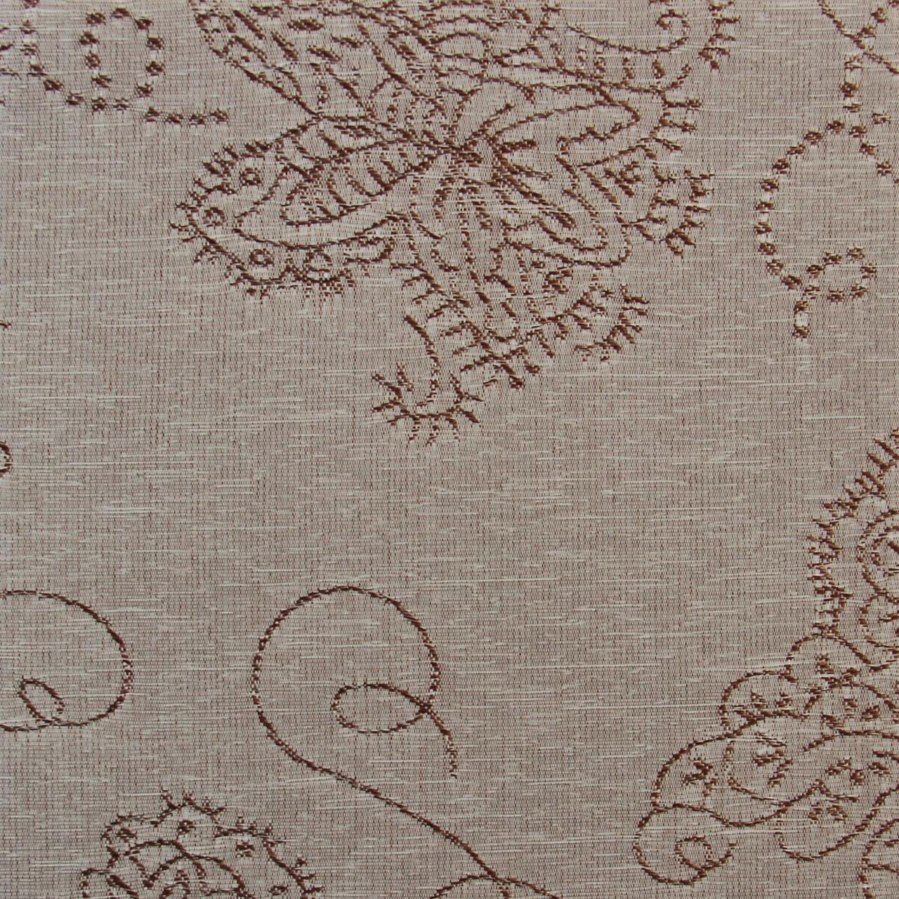 Рулонні штори Тканина Кінга 406 Коричневий