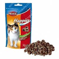 Trixie Happies Light Лакомство для кошек с мясом птицы и сыром