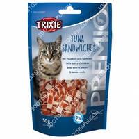 Лакомства для кошек Trixie 42731 Premio Tuna Sandwiches с тунцом и мясом птицы