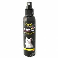 AnimAll Spray Спрей приучение к туалету для кошек