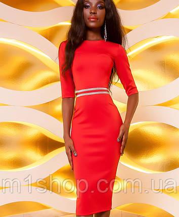Женское стрейчевое платье по фигуре (Богемияjd), фото 2