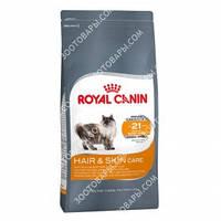 Royal Canin Hair & Skin Care для взрослых кошек с проблемной кожей и шерстью 2 кг