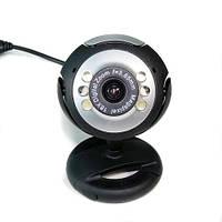USB 12.0M 6 LED WEBCAM CAMERA Веб-камеры MIC для ПК LAPTOP