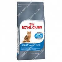 Royal Canin Light Weight Care для взрослых кошек склонных к ожирению 0,400кг