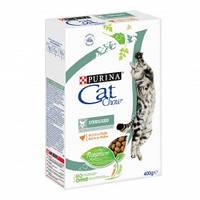 Purina Cat Chow Sterilised Сухой корм для кастрированных/стерилизованных котов и кошек 0,400кг