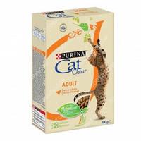 Purina Cat Chow Adult Сухой корм для кошек с курицей 0,400кг