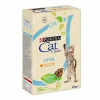 Purina Cat Chow Kitten Сухой корм для котят с курицей 0,400кг