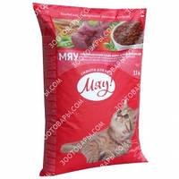Мяу! Сухой корм для кошек с курицей 11кг