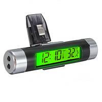 ЖК-Clip-на цифровой подсветка автомобильный термометр часы кален