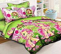 Детское постельное белье в кроватку Маленькая Пони, ранфорс