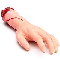 Кровавый отрезать поддельные компания lifesize рычаг рукой страшный Хэллоуин проп