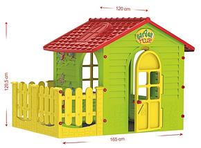 Детский домик с заборчиком Mochtoys, фото 3