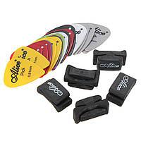 Новая резина шпиндельной бабки гитары выбирает держателя с 2pcs выборы гитары