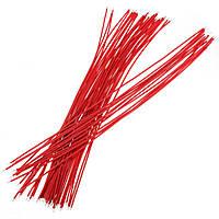 4 X 50 шт красный двух концах с луженые 20см макет прыгать кабель