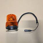 Оранжевый маяк (мигалка) на магнитном основании (Проблесковый маяк)