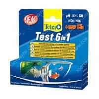 Tetra Test 6in1 полоски для проверки 6 важных параметров качества воды