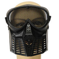 Охота байкер страйкбол пейнтбол тактический анфас Mesh маска охранник
