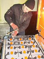 Установка, диагностика и ремонт тяговых батарей