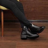 Женские зимние ботинки на молнии модель 7207.1