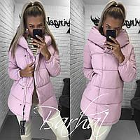 Теплая зимняя куртка в 3-х цветах (синтепон 300) 42-44, 44-46 р