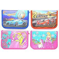 """Пенал 7010-1/7010-2 """"Speed, Princess"""" (1 отделение, 1 отворот) картон, блеск, фото 1"""