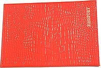 Обложка на паспорт цвет ярко-красный